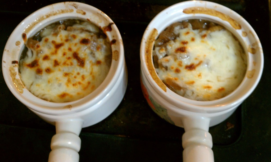 Gina's French onion soup